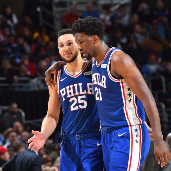 The Sixers are facing The OKC Thunder with Russell Westbrook. Ben Simmons: 16.5PPG Russell Westbrook: 25.4PPG Joel Embiid: 23.6PPG 10.9RPG Paul George: 21PPG  #sixersnation #sixers #joelembiid #bensimmons #trusttheprocess #nba