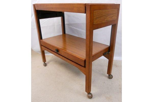 1960's Teak Tea Trolley Dinner Wagon | Vinterior London  #vintage #midcentury #design #home