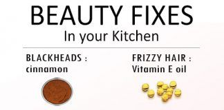 10 Kitchen fixes for every beauty problem