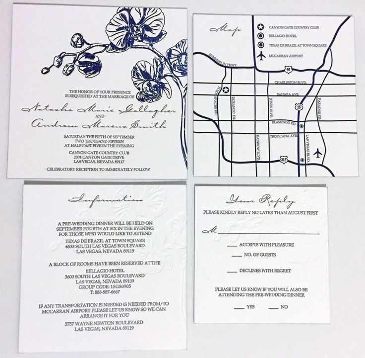 Letterpress Blue Orchid Wedding Invitation Retainer by BlueOrchidDesignsLV on Etsy https://www.etsy.com/listing/232568241/letterpress-blue-orchid-wedding  Custom | Inspiration | Planning | Pretty | Design