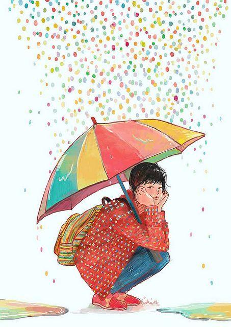Lluvia de Colores!