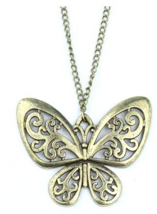 Bronze Butterfly Necklace $3 shipped FREE: Pendant Necklace, Necklace Chain, Butterfly Necklace, Classic Vintage, Vintage Bronze, Retro Classic, Butterfly For