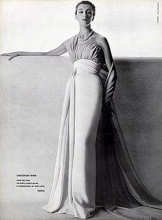 Christian Dior, photo Guy Arsac, 1953                                                                                                                                                                                 More