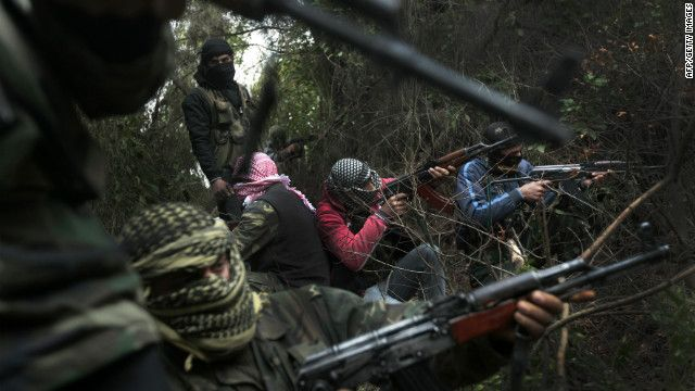Syrian rebel stronghold of Idib seized... death troll approaching 10,000! How sad is this?  CNN News 3/15/12