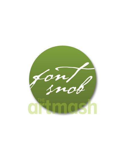 Font Snob Button by theartmash on Etsy, $1.50