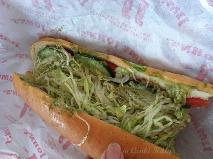 Vegan Options at Jimmy Johns