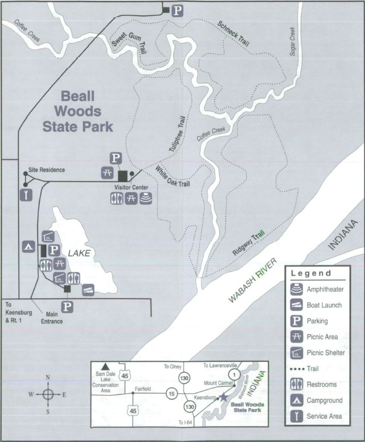 Site Map   State parks, Picnic area, Park