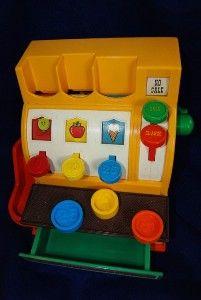 So many toys I wish I had kept...Playskool cash register