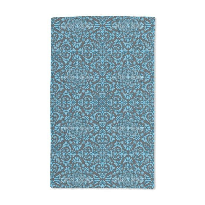 Uneekee and Blue Hand Towel