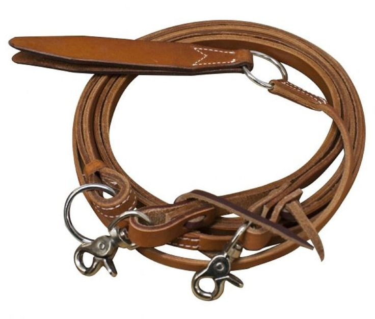 Premium Cowhide Leather Rommel Romel Romal Reins With Snaps New Horse Tack    eBay