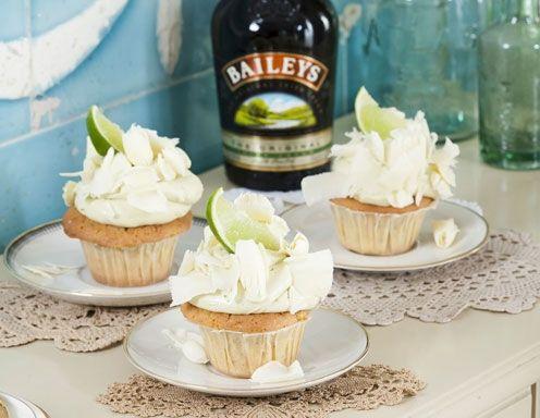 Baileys Original Cupcake mit Matchatee