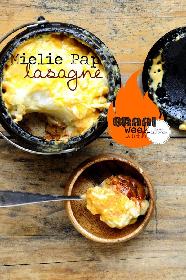 Get the Recipe to make Mieliepap Lasagne for Braai Day from Clever Leftovers!