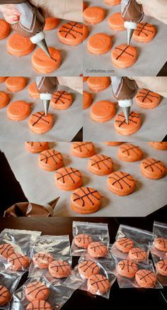 Basketball TREATS - Party or Team Mom IDEAS! Any sport - baseball, soccer, softball