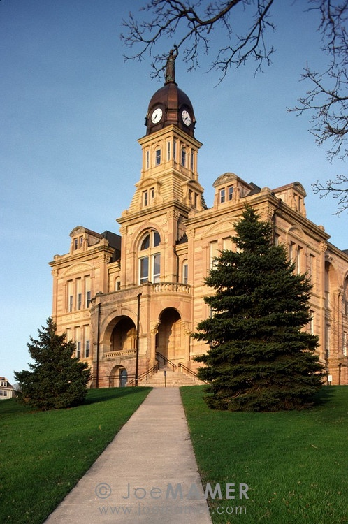 Mankato, Minnesota: Blue Earth County Courthouse