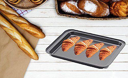 3 Piece Baking Sheets Nonstick Bakeware Set Premium Cookie Sheet