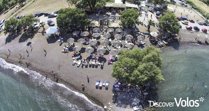 Gazebo Seaside Beach Bar, Almyros.