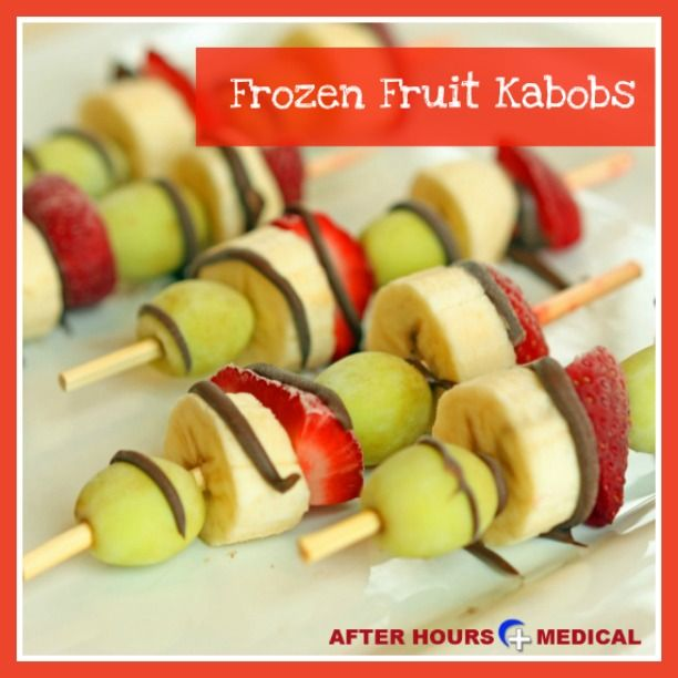 fruit kabobs healthy fruit popsicle recipes
