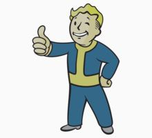Vault Boy Merch by NosingGaming