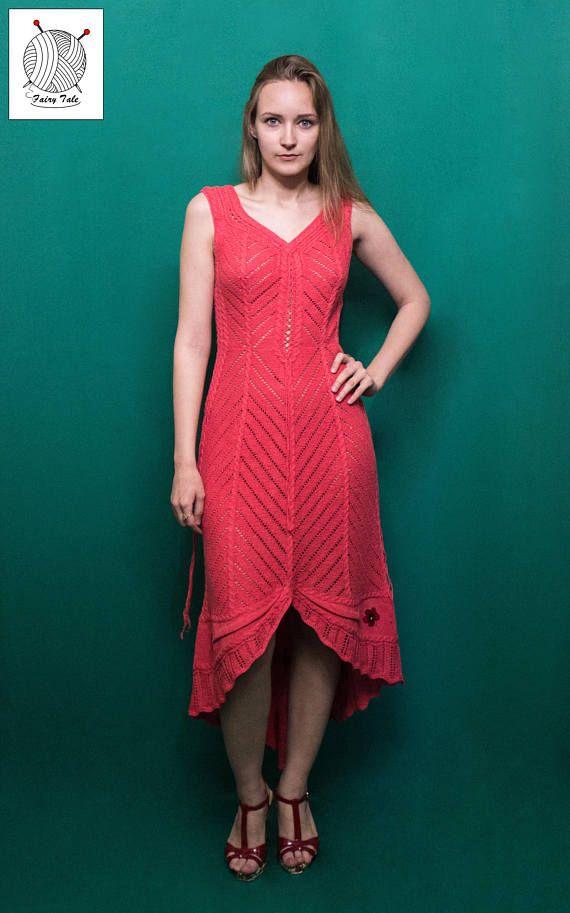 Вязаное вечернее платье Бабочка по идеям Зои