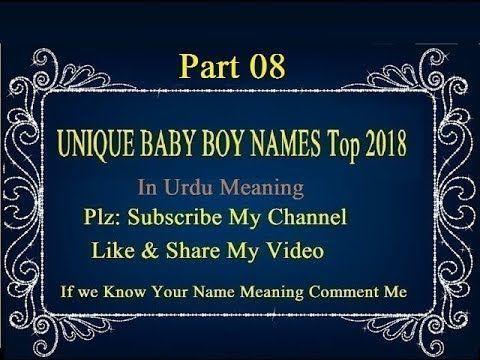 Pin On Babies Boy Names
