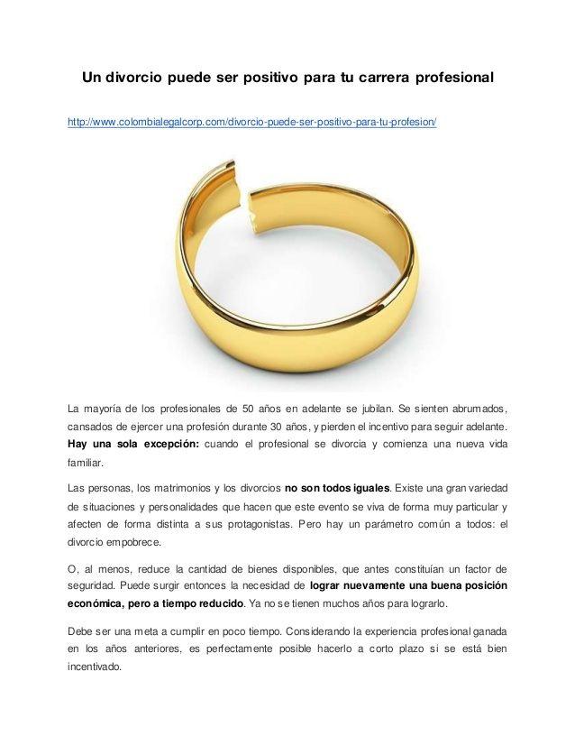 Un divorcio puede ser positivo para tu carrera profesional http://www.colombialegalcorp.com/divorcio-puede-ser-positivo-pa...