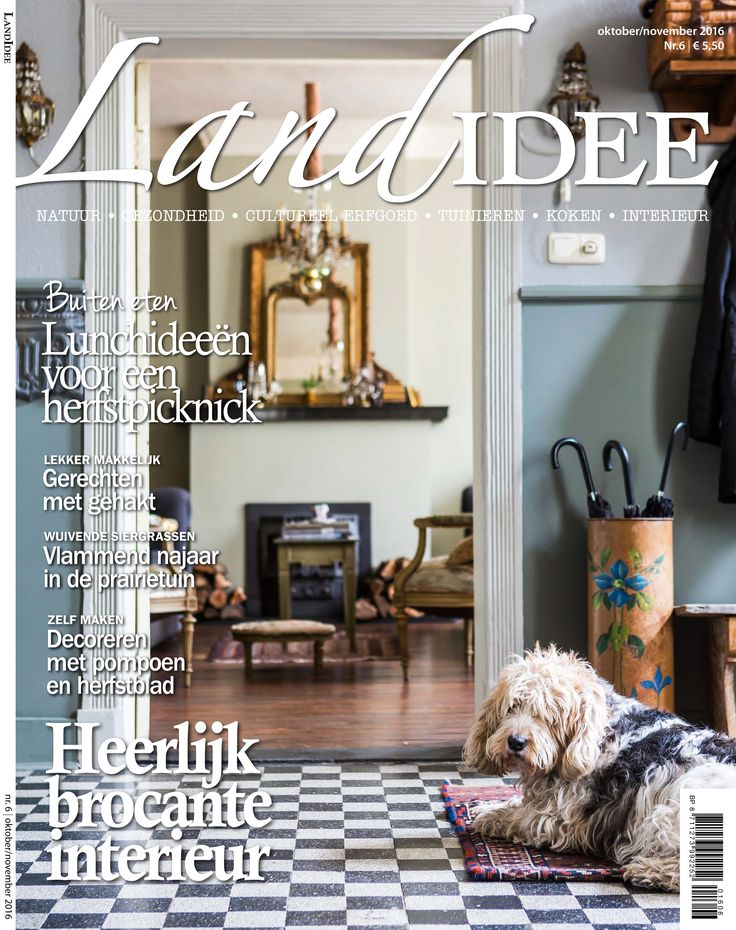 Cover LandIdee oktober-november 2016  #landidee #magazine #holland