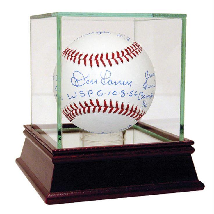 Don Larsen Signed MLB Baseball w WSPG 10-8-56 & Box Score Insc. LE56