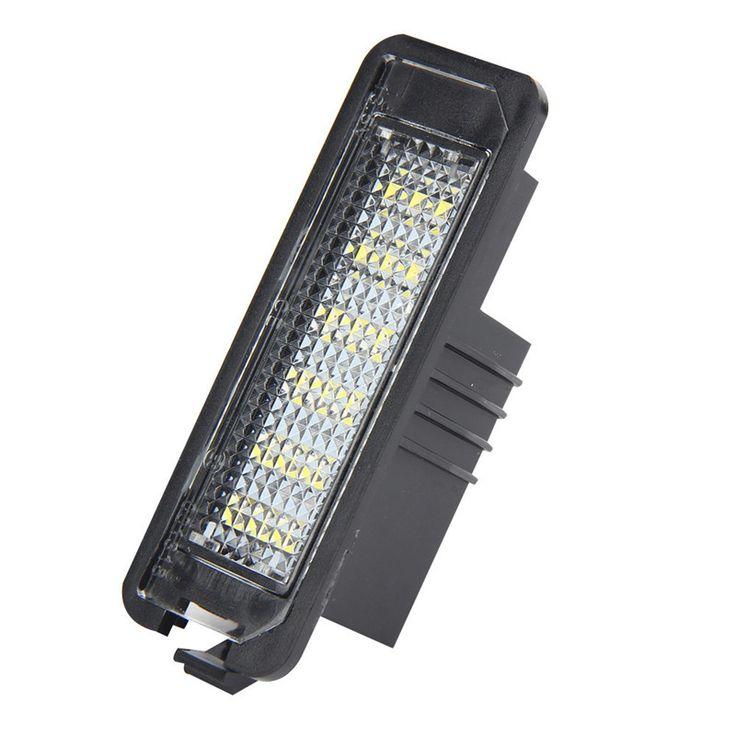 snowshine3 #3001 Golf trainer  2x 18 LED License Plate Light Lamp For VW Golf Polo MK5 MK4 Passat White Golf trainer