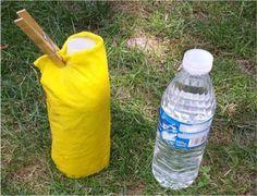 Experimento de evaporacion. Enfría una botella sin usar hielo ni electricidad