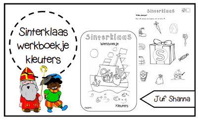 Werkboekje thema: Sinterklaas