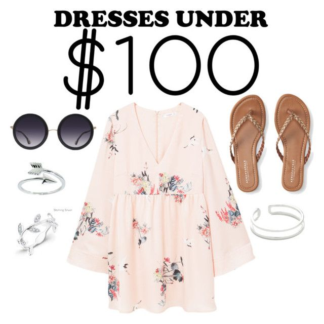 """""""Under $100"""" by maryamlovesbeauty ❤ liked on Polyvore featuring Aéropostale, Alice + Olivia, Maya Magal, Eternally Haute, Anne Sisteron and MANGO"""