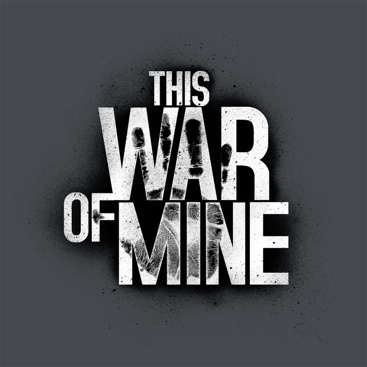 Game Logo - This War of Mine
