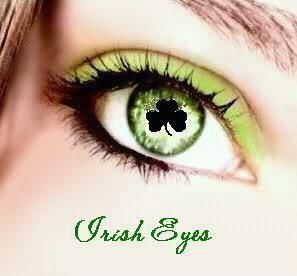 Irish Eyes...would be so fun to wear for St Patrick's Day:)