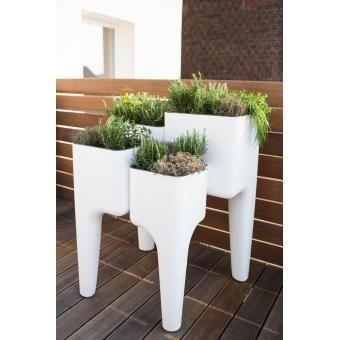 Table potagère KiGA blanche