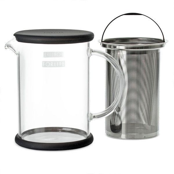 Lucent Glass Teapot