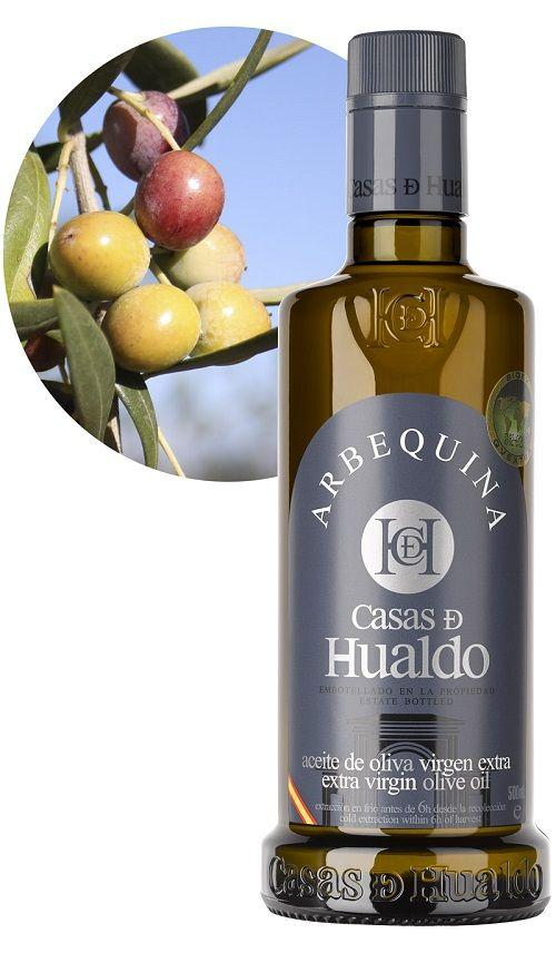 Arbequina - kampania 2016/2017- oliwa extra virgin z młyna Casas de Hualdo,  500ml