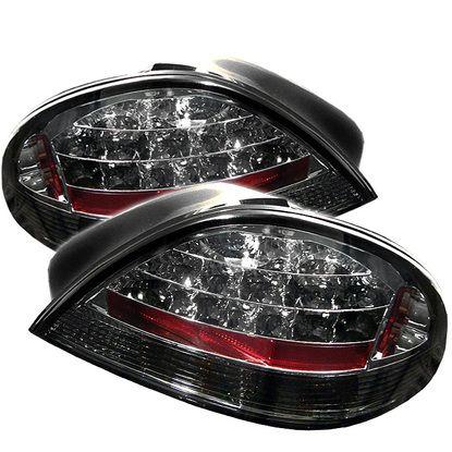 1999-2005 Pontiac Grand AM LED Tail Lights - Smoke