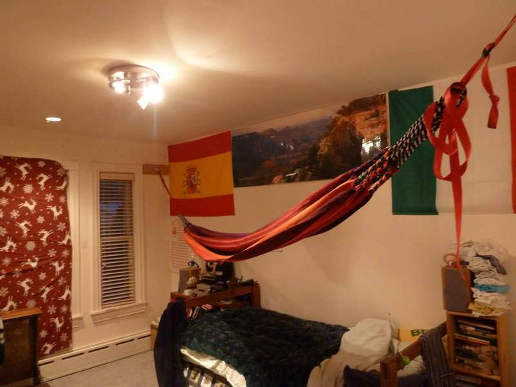 1000 images about diy indoor hammock on pinterest for Living room hammock