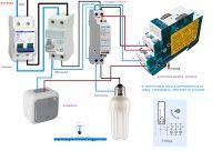 Esquemas eléctricos: Minutero escalera 3 hilos