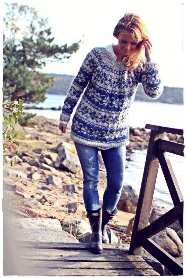 Ikivanha norjalainen - Kalastajan vaimo - ME NAISET