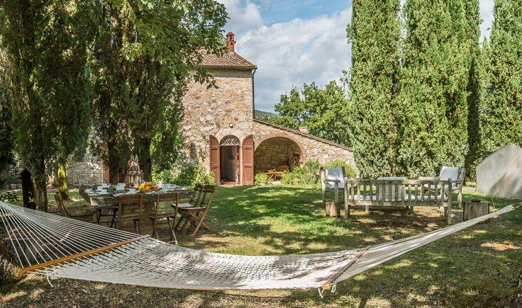 Poggio a Spandole - Gaiole in Chianti - Siena http://www.salogivillas.com/en/villa/poggio-a-spandole-9283