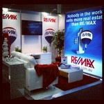 RE/MAX Stand @ AREC 2012. Staged by Styled By Me!  www.styledbyme.com.au