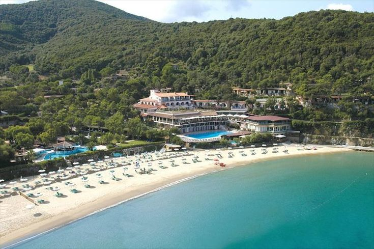 Hotel Hermitage auf der Insel Elba, in der Gemeinde Portoferraio, Loc. Biodola. Fotos, Beschreibung und Buchung von Hotels auf Elba.