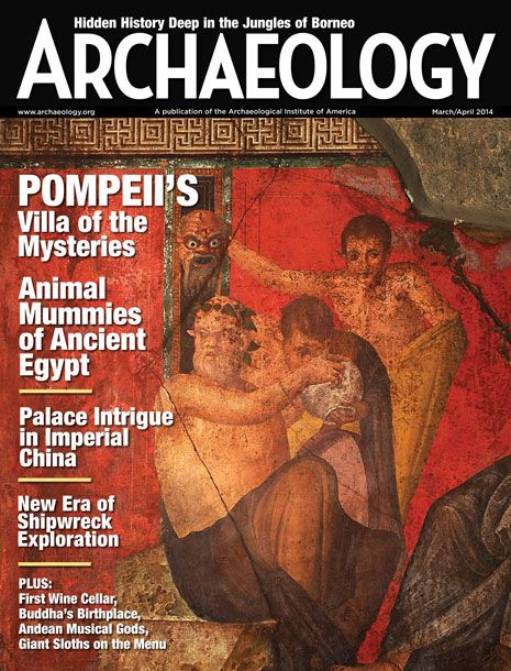 Saving the Villa of the Mysteries - Archaeology Magazine