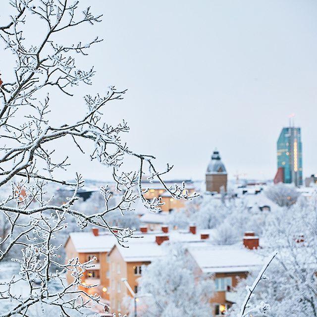 Vinterutsikt #djäkneberget #västerås #vinter #högupplöstkärlek