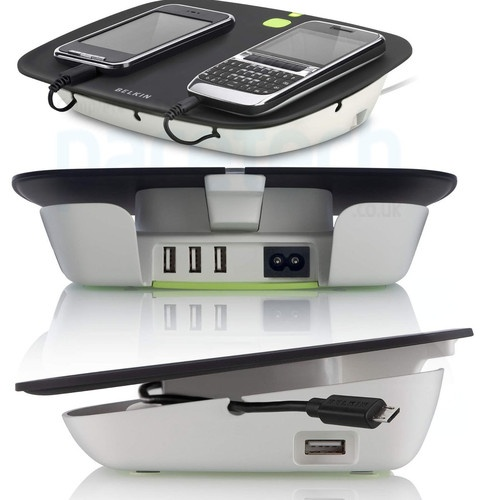 Belkin Conserve Valet Smart USB Charging Station for USB Devices iPhone iPod | eBay