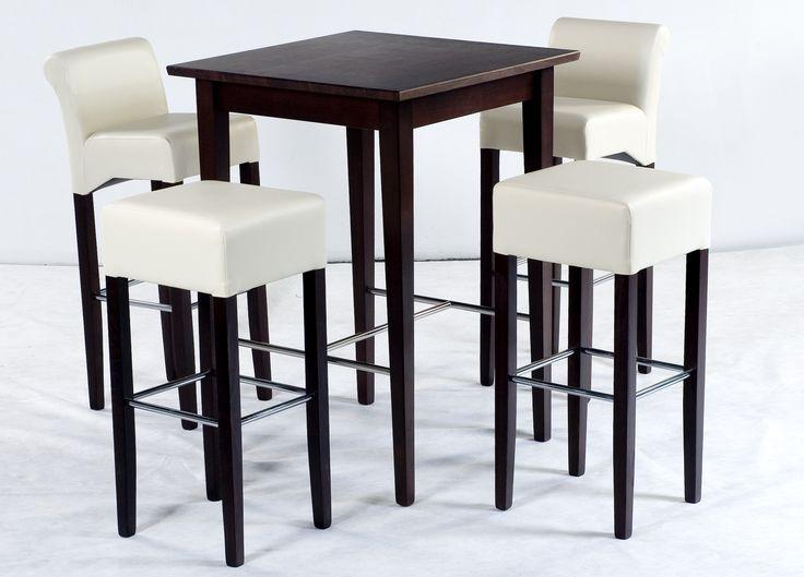 Barstühle Mit Bartisch Buche Kolonial Massiv Woody 114 00019 Beige  Kunstleder Modern Jetzt Bestellen Unter
