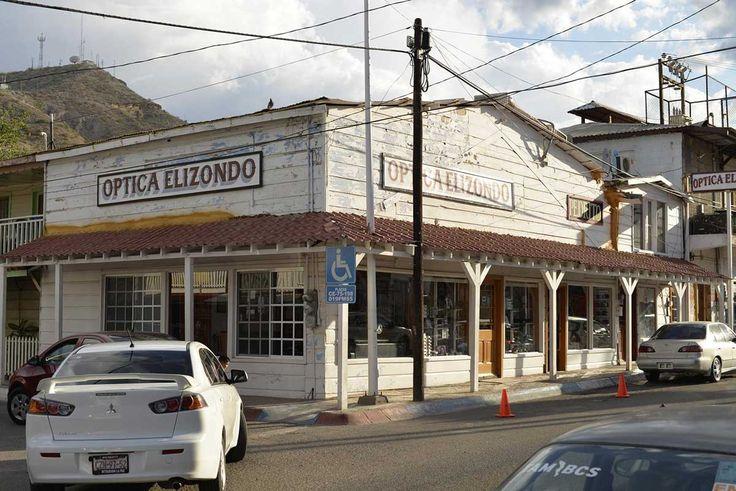 Городок вестерн. Южная Калифорния. Мексика