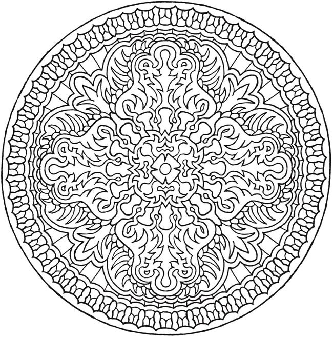 Creative Haven Magical Mandalas Coloring Book By The