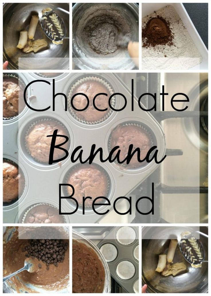 Chocolate Banana Bread.    Cooking with kids, the easiest way to use up any overripe bananas with the ultimate pairing in chocolate and banana.  Moist and delicious, chocolate sponge banana cake studded with chocolate chips.    Chocolate banana bread - in (scheduled via http://www.tailwindapp.com?utm_source=pinterest&utm_medium=twpin&utm_content=post153087119&utm_campaign=scheduler_attribution)